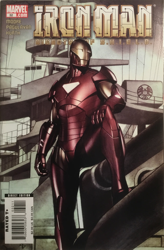 INVINCIBLE IRON MAN (VOL 4) DIRECTOR OF S.H.I.E.L.D. # 32 - Comics 'R' Us