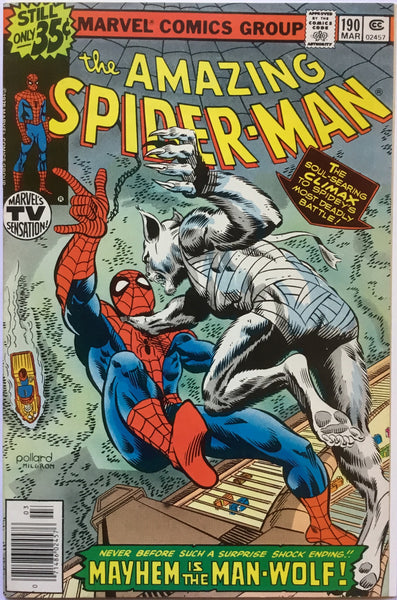 AMAZING SPIDER-MAN # 190 - Comics 'R' Us