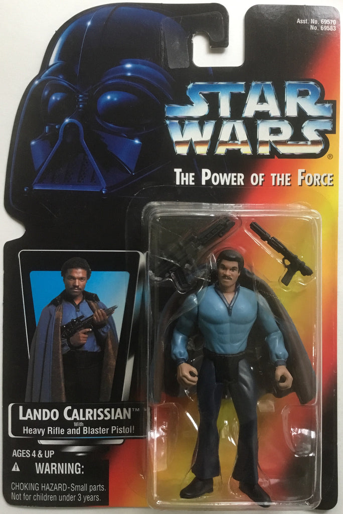 STAR WARS LANDO CALRISSIAN ACTION FIGURE 1995