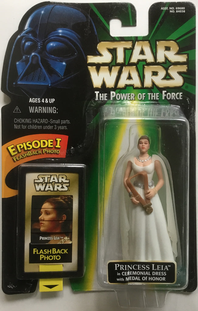 STAR WARS PRINCESS LEIA IN CEREMONIAL DRESS ACTION FIGURE 1998
