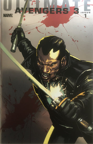ULTIMATE AVENGERS 3 # 1 BLADE FOILOGRAM COVER (1:25 VARIANT)