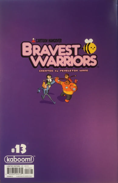 BRAVEST WARRIORS #13 (1:15 VARIANT COVER)