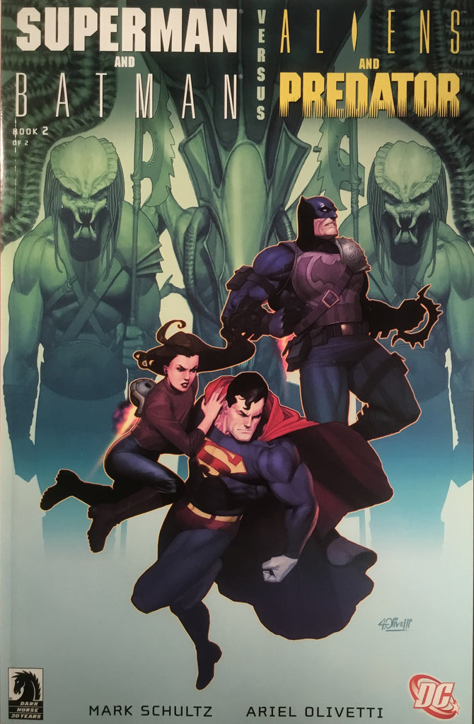 SUPERMAN AND BATMAN VERSUS ALIENS AND PREDATOR # 2