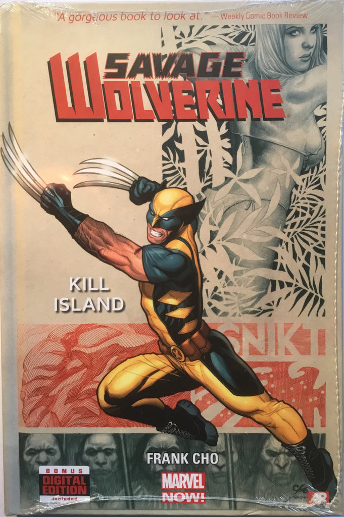 SAVAGE WOLVERINE VOL 1 KILL ISLAND HARDCOVER GRAPHIC NOVEL
