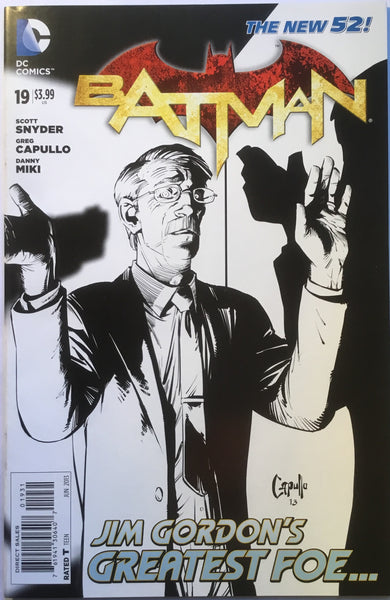 BATMAN #19 (THE NEW 52) CAPULLO 1:100 VARIANT - Comics 'R' Us