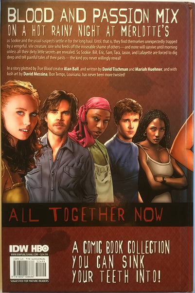 TRUE BLOOD VOL 1 ALL TOGETHER NOW HARDCOVER GRAPHIC NOVEL