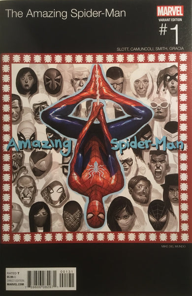 AMAZING SPIDER-MAN # 1 (2015) HIP HOP VARIANT COVER - Comics 'R' Us