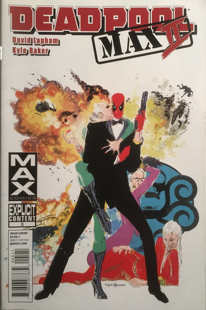 DEADPOOL MAX II # 5 - Comics 'R' Us