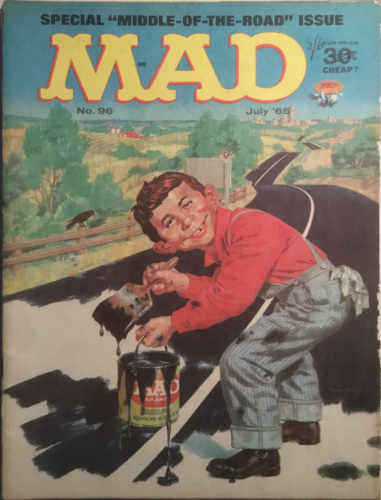 MAD MAGAZINE (USA) # 96