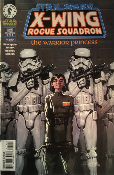 STAR WARS X-WING ROGUE SQUADRON : THE WARRIOR PRINCESS # 3