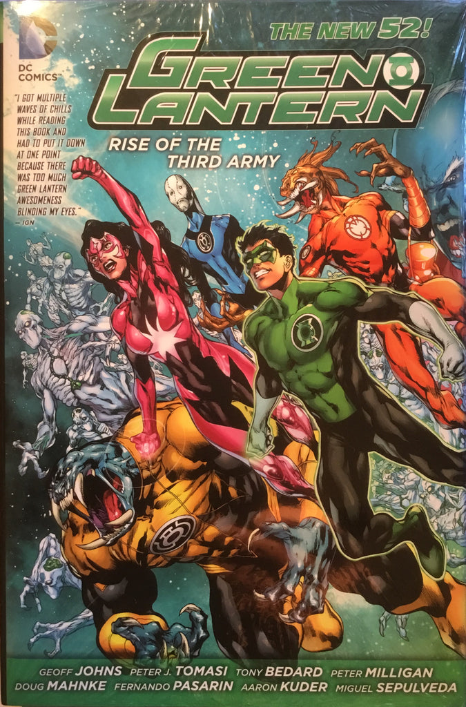 GREEN LANTERN (NEW 52) RISE OF THE THIRD ARMY HARDCOVER GRAPHIC NOVEL - Comics 'R' Us