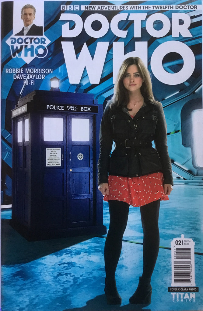 DOCTOR WHO THE 12TH DOCTOR # 2 CLARA PHOTO COVER (1:10 VARIANT) - Comics 'R' Us