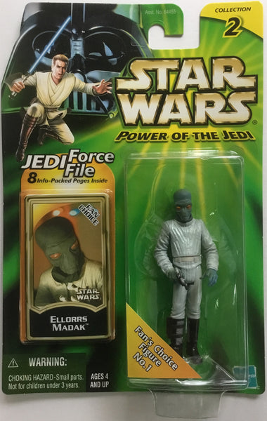 STAR WARS ELLORRS MADAK ACTION FIGURE 2000