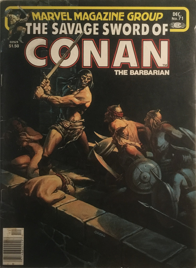 THE SAVAGE SWORD OF CONAN # 71
