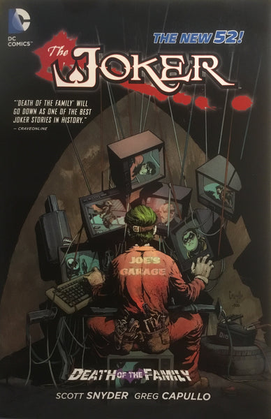 JOKER DEATH OF THE FAMILY (NEW 52) GRAPHIC NOVEL