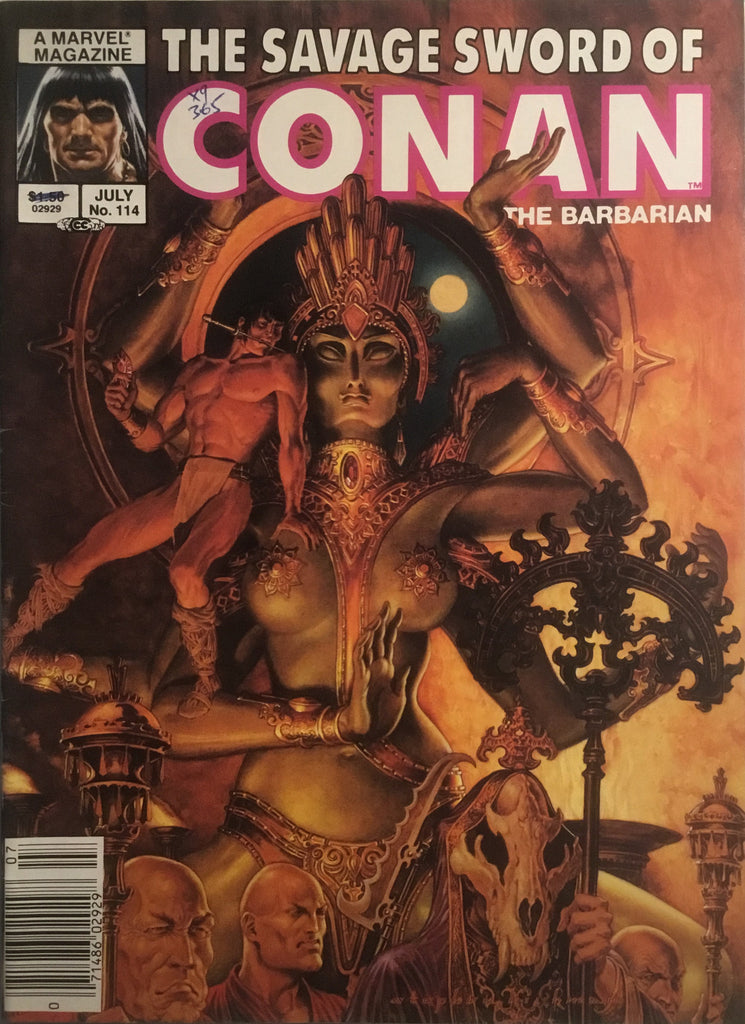 THE SAVAGE SWORD OF CONAN #114