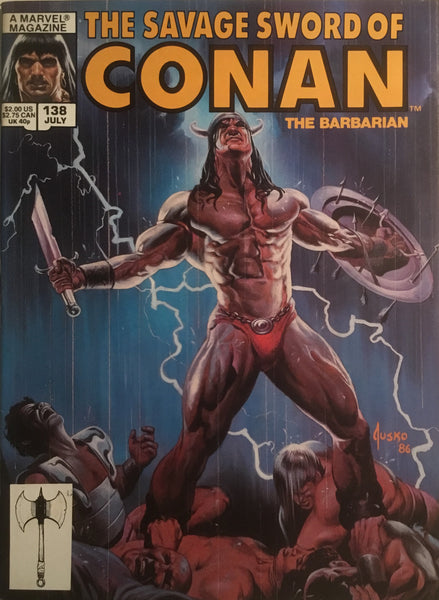 THE SAVAGE SWORD OF CONAN #138