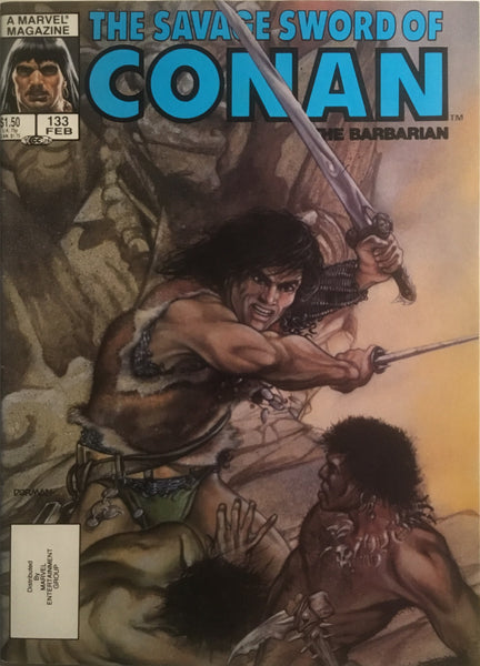 THE SAVAGE SWORD OF CONAN #133