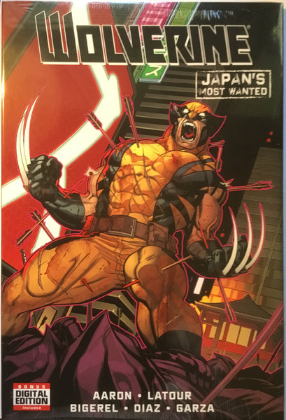 WOLVERINE JAPAN'S MOST WANTED HARDCOVER GRAPHIC NOVEL