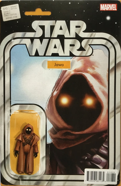 STAR WARS (MARVEL) #10 JAWA ACTION FIGURE VARIANT COVER