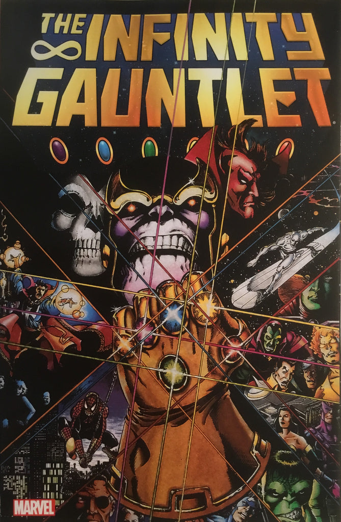 INFINITY GAUNTLET GRAPHIC NOVEL - Comics 'R' Us