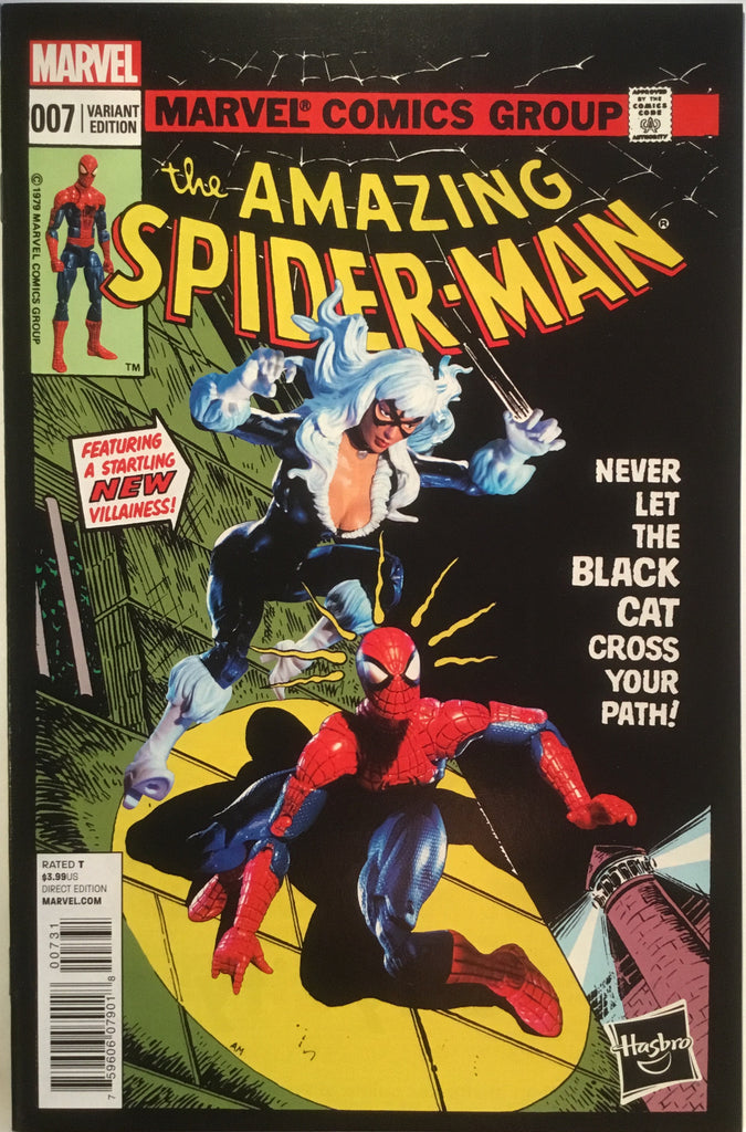 AMAZING SPIDER-MAN # 7 (2014) HASBRO 1:15 VARIANT - Comics 'R' Us