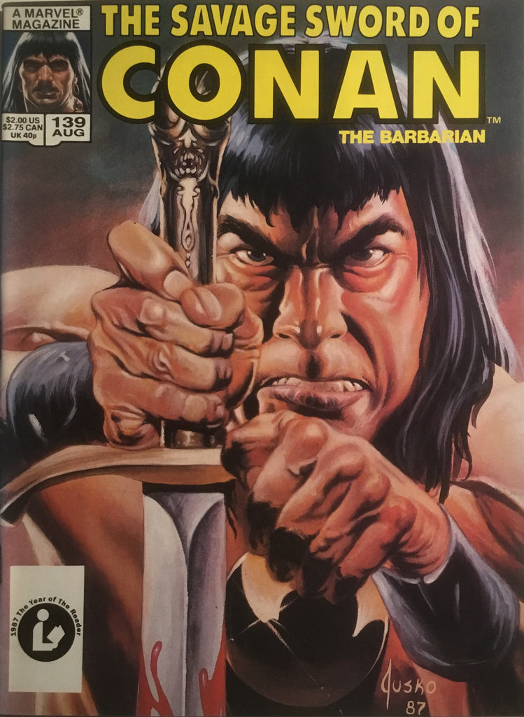 THE SAVAGE SWORD OF CONAN #139