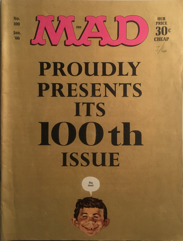 MAD MAGAZINE (USA) #100