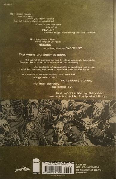 THE WALKING DEAD VOL 14 NO WAY OUT GRAPHIC NOVEL