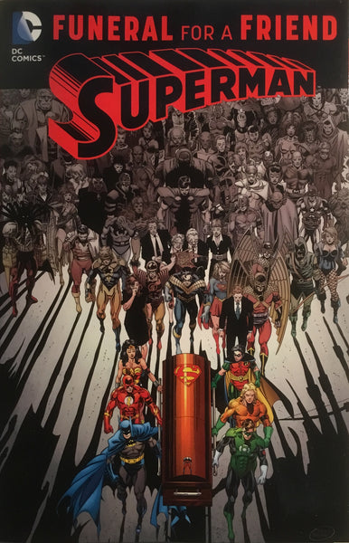 SUPERMAN FUNERAL FOR A FRIEND GRAPHIC NOVEL