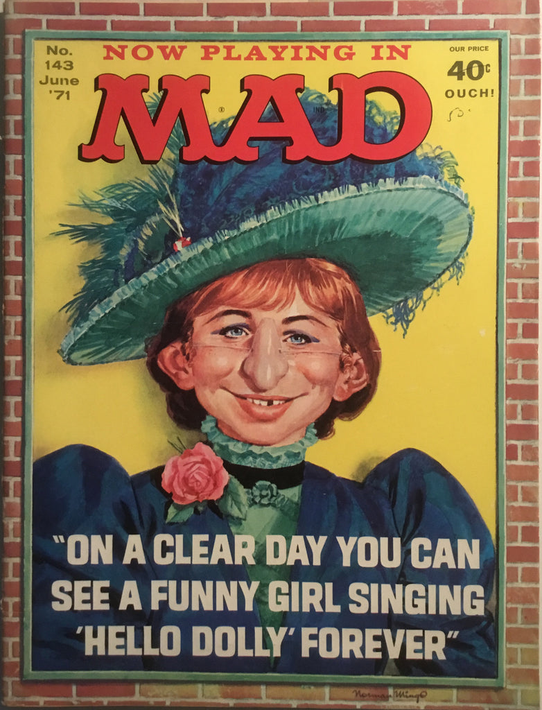 MAD MAGAZINE (USA) #143
