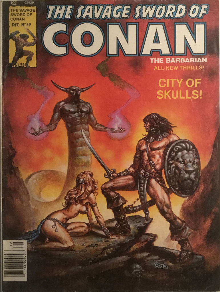 THE SAVAGE SWORD OF CONAN # 59