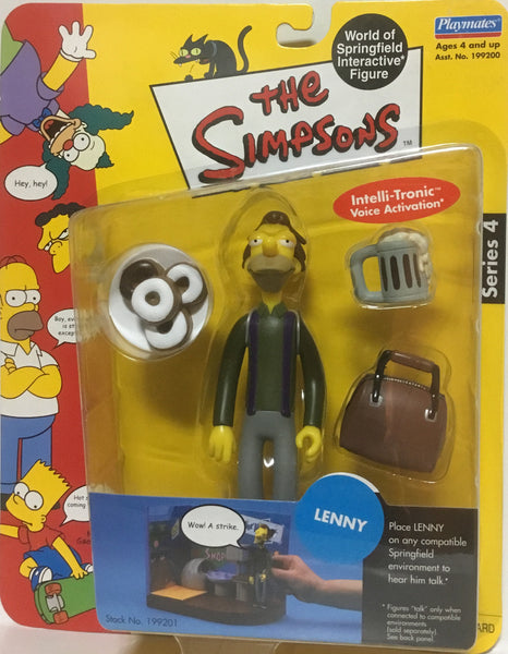 SIMPSONS WORLD OF SPRINGFIELD LENNY INTERACTIVE FIGURE