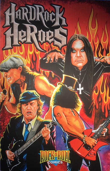 HARD ROCK HEROES GRAPHIC NOVEL - Comics 'R' Us