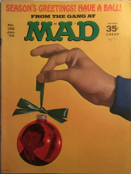 MAD MAGAZINE (USA) #132