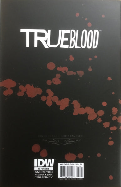 TRUE BLOOD TAINTED LOVE # 2 CAMPBELL COVER (1:10 VARIANT)