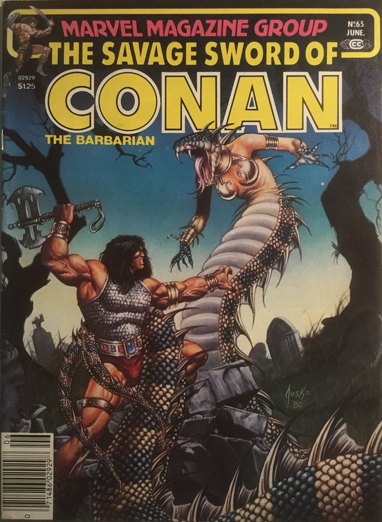 THE SAVAGE SWORD OF CONAN # 65