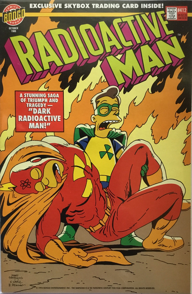 SIMPSONS RADIOACTIVE MAN # 412
