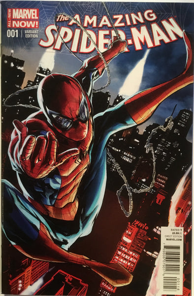 AMAZING SPIDER-MAN # 1 (2014) MHAN VARIANT - Comics 'R' Us