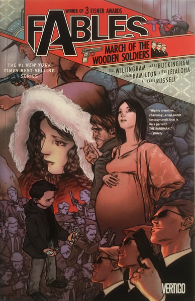 FABLES VOL 04 MARCH OF THE WOODEN SOLDIERS GRAPHIC NOVEL