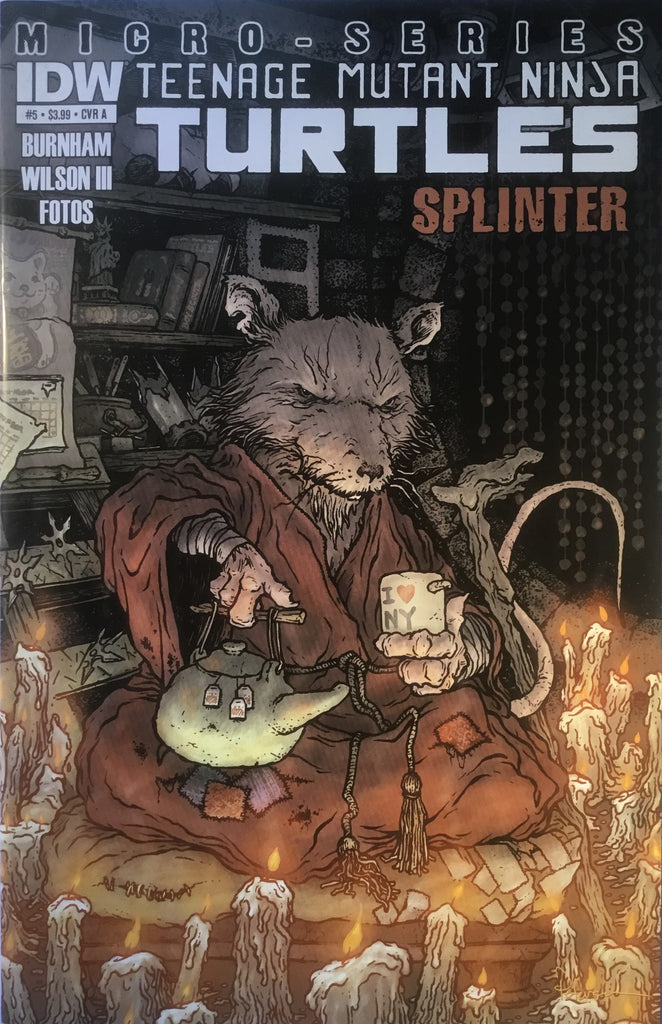 TMNT TEENAGE MUTANT NINJA TURTLES MICRO-SERIES # 5 SPLINTER