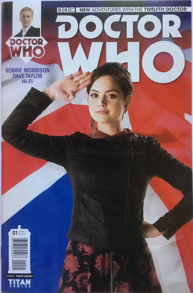 DOCTOR WHO THE 12TH DOCTOR # 1 CLARA PHOTO COVER (1:25 VARIANT) - Comics 'R' Us