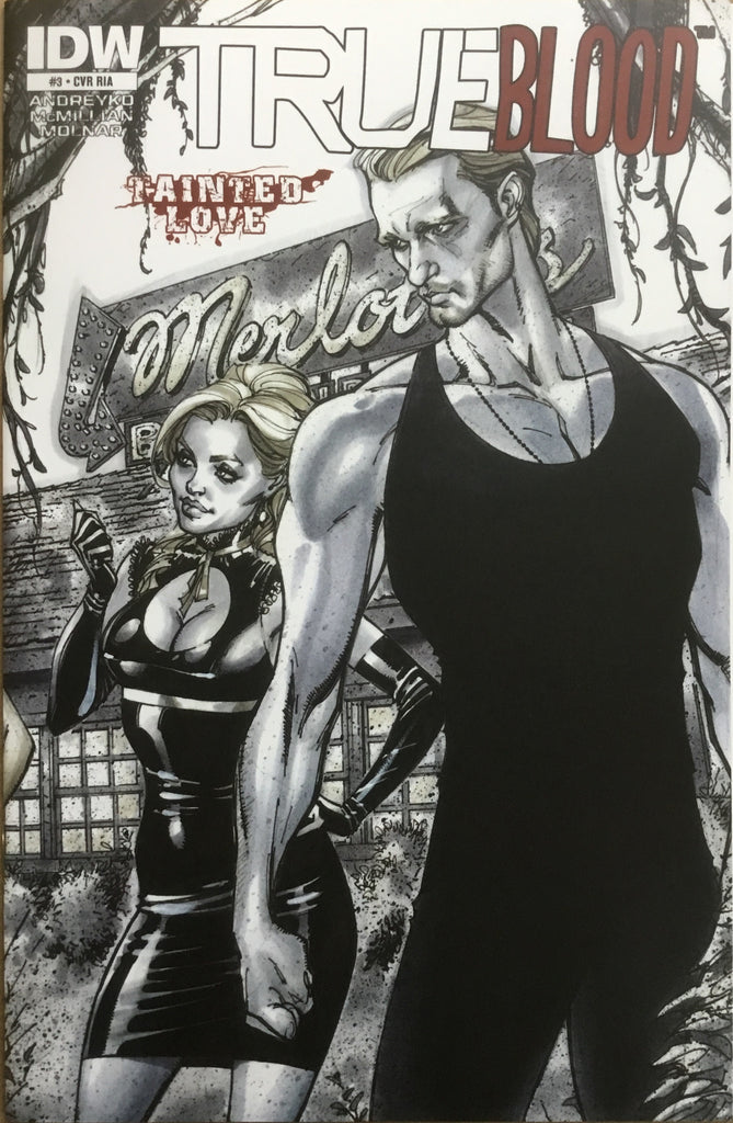 TRUE BLOOD TAINTED LOVE # 3 CAMPBELL COVER (1:10 VARIANT)