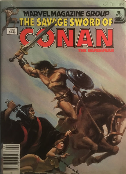 THE SAVAGE SWORD OF CONAN # 85
