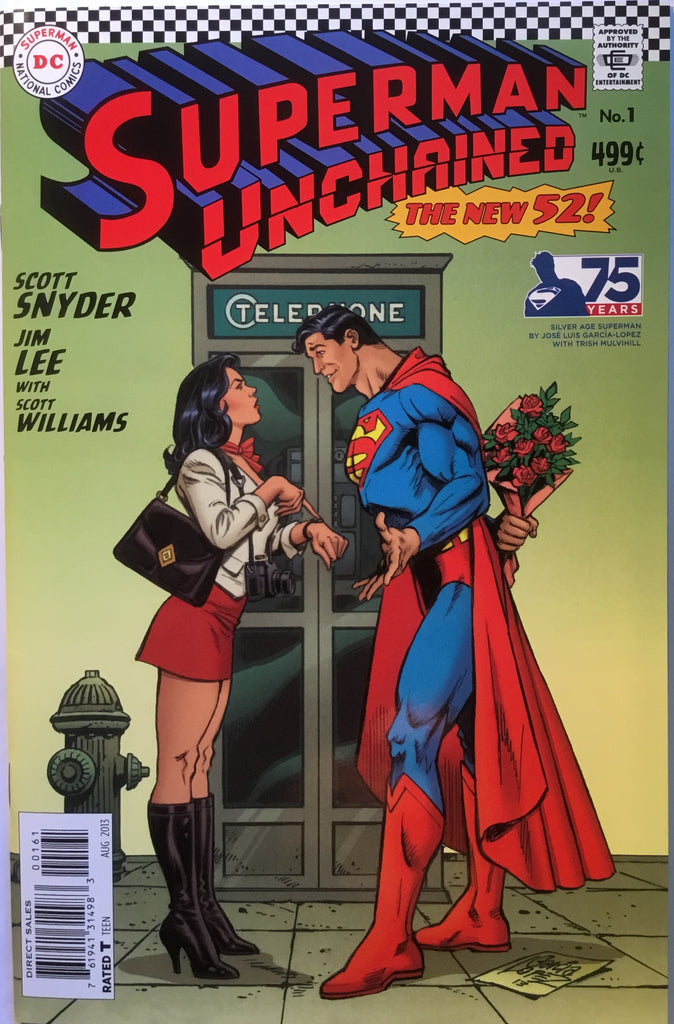 SUPERMAN UNCHAINED # 1 GARCIA-LOPEZ 1:50 VARIANT