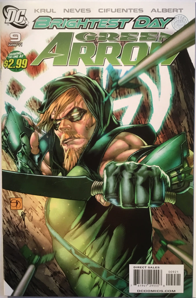 GREEN ARROW # 9 (2011) 1:10 VARIANT - Comics 'R' Us