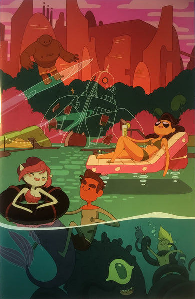 BRAVEST WARRIORS # 9 (1:15 VARIANT COVER)