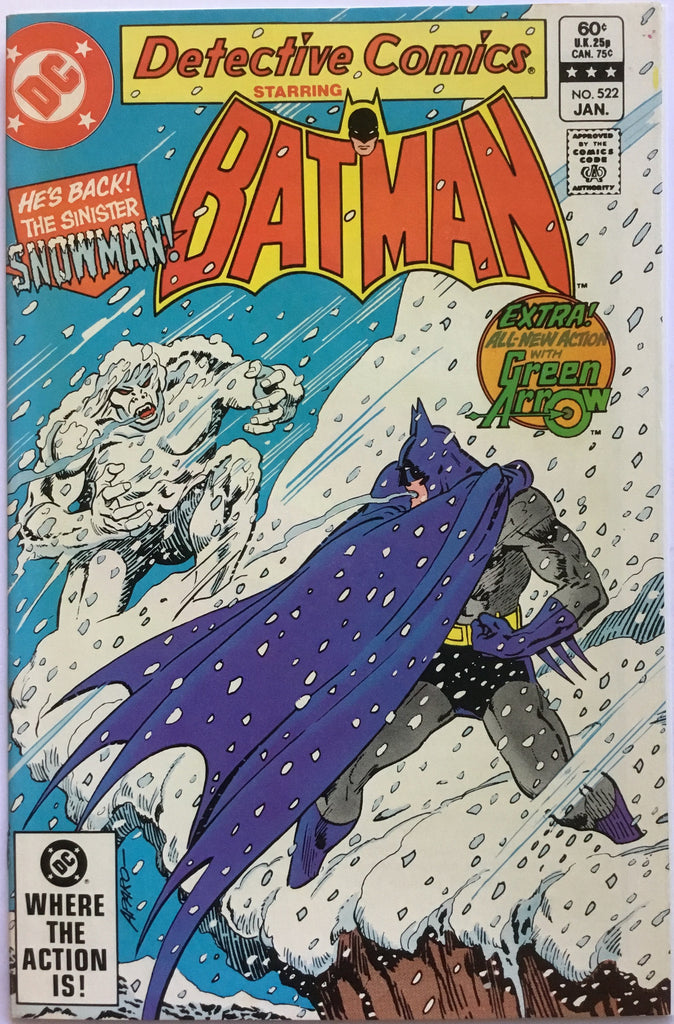 DETECTIVE COMICS starring BATMAN # 522 - Comics 'R' Us