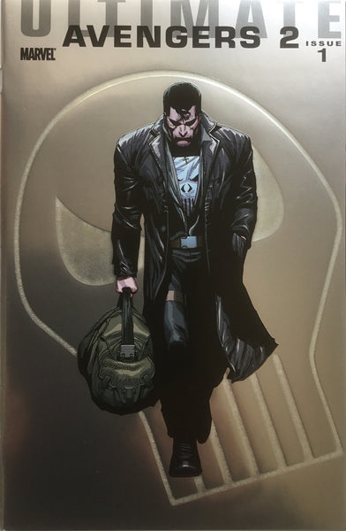 ULTIMATE AVENGERS 2 # 1 PUNISHER FOILOGRAM COVER (1:25 VARIANT)