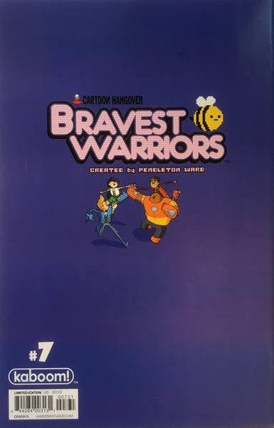 BRAVEST WARRIORS # 7 (1:20 VARIANT COVER)